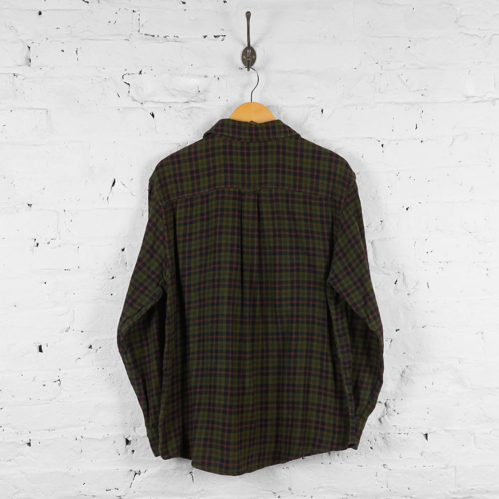 Vintage Ralph Lauren Chaps Checked Shirt - Green - L