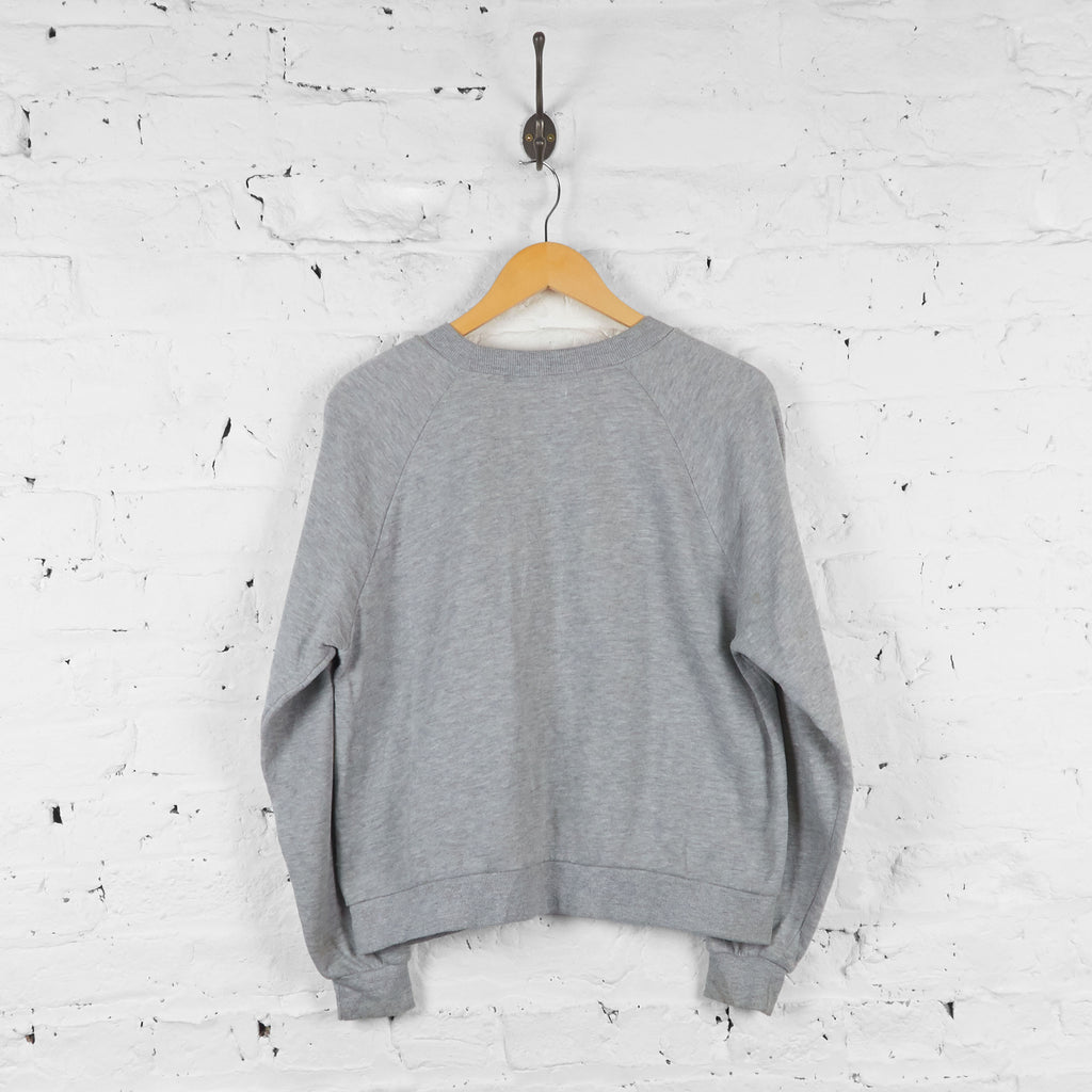 Womens Mickey Mouse Keep Looking Sweatshirt - Grey - Womens S