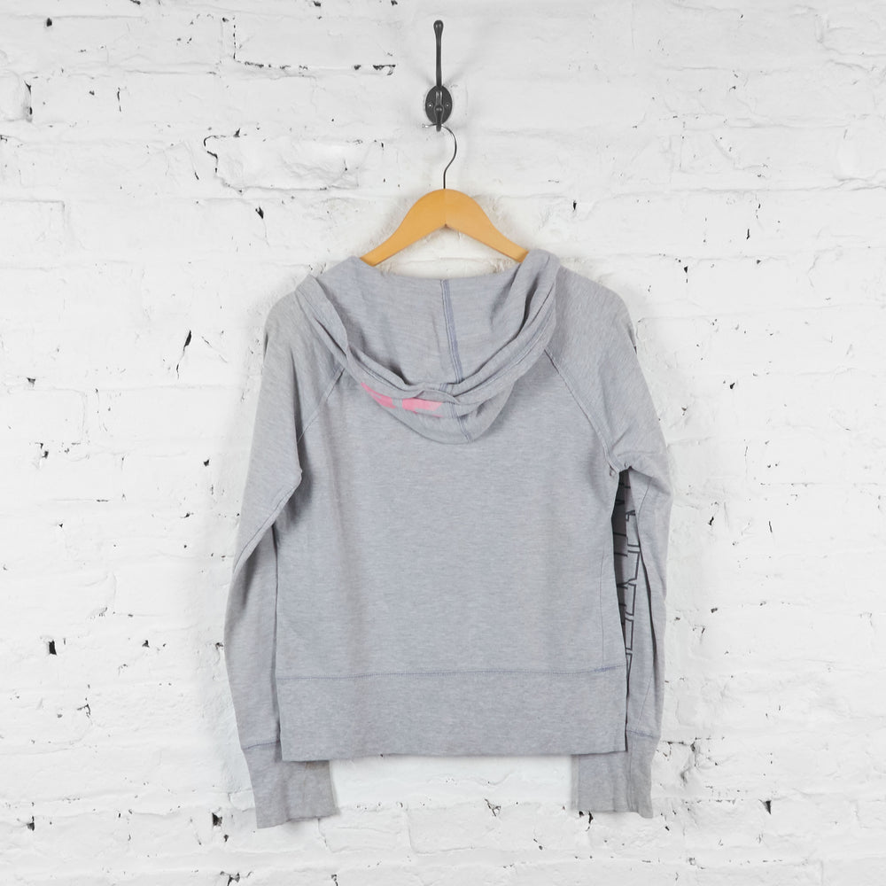 Womens Minnie Mouse Hoodie - Grey - Womens L