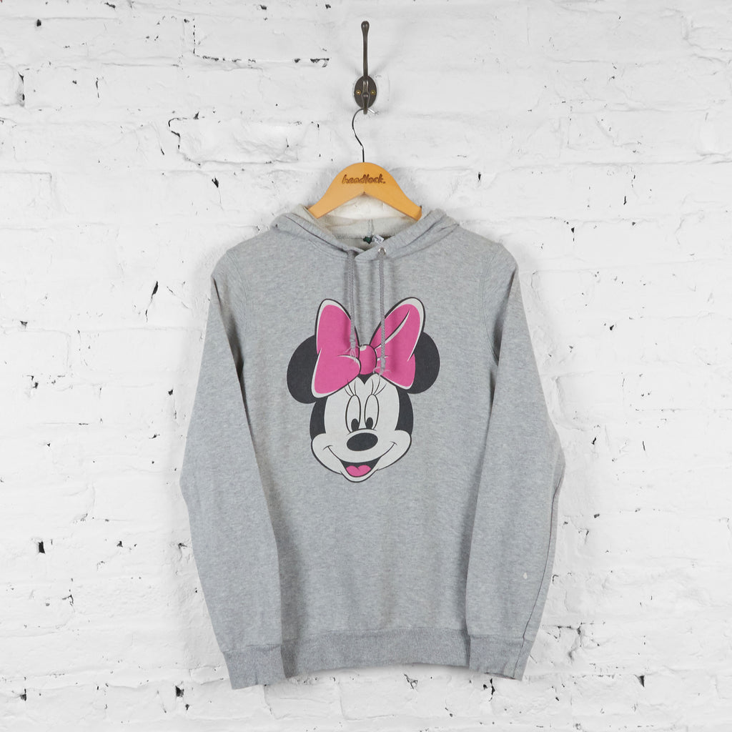 Womens Minnie Mouse Disney Hoodie - Grey - Womens M