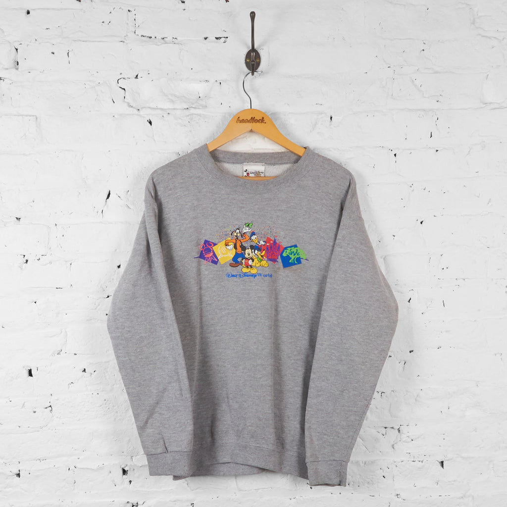 Walt Disney World Sweatshirt - Grey - S - Headlock