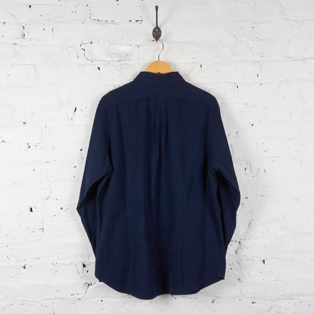 Vintage Ralph Lauren Classic Fit Shirt - Navy - L - Headlock