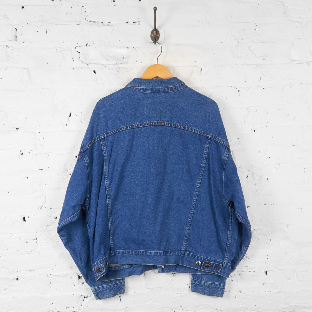 Vintage Denim Jacket - Blue - XL - Headlock