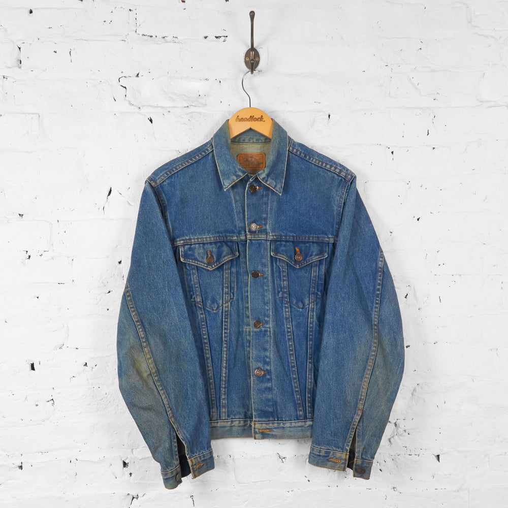 Vintage Denim Jacket - Blue - M - Headlock