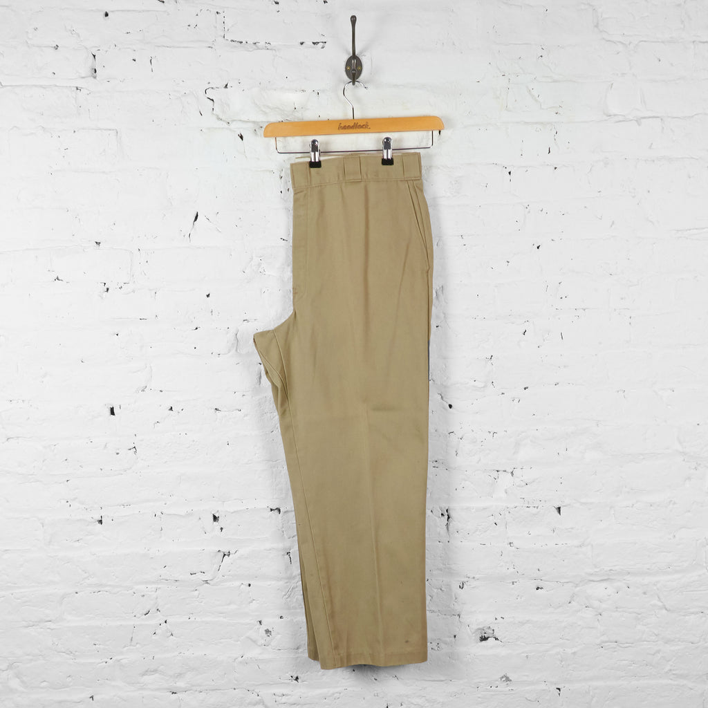 Vintage Dickies Cargo Trousers - Beige - XL - Headlock