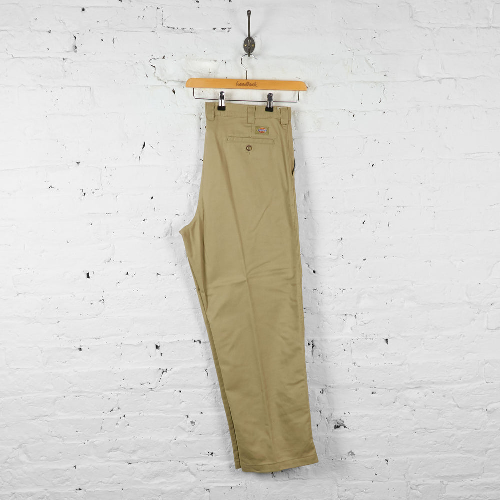 Vintage Dickies Chino Trousers - Beige - XL - Headlock