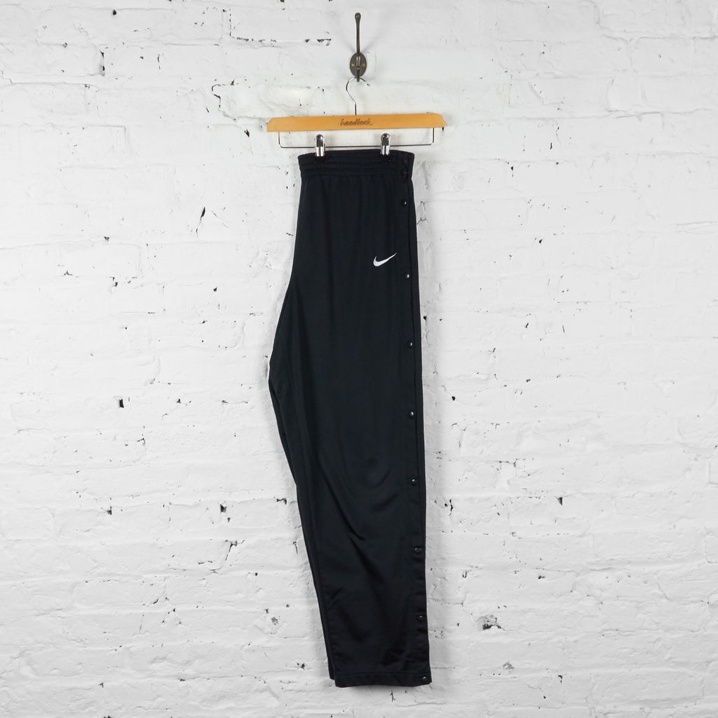 Vintage Nike Tracksuit Bottoms - Black - XL - Headlock