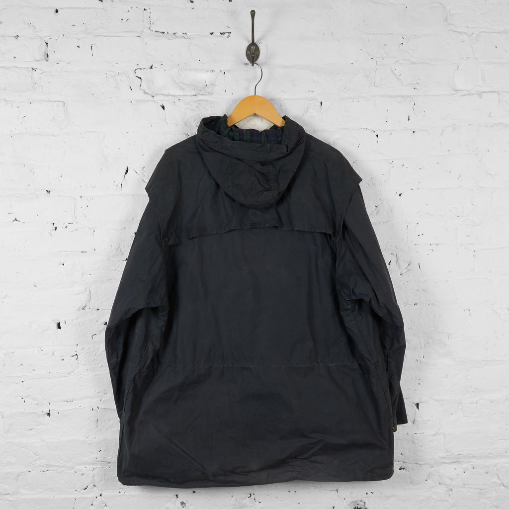 Vintage Durham Barbour Jacket - Black - XL - Headlock