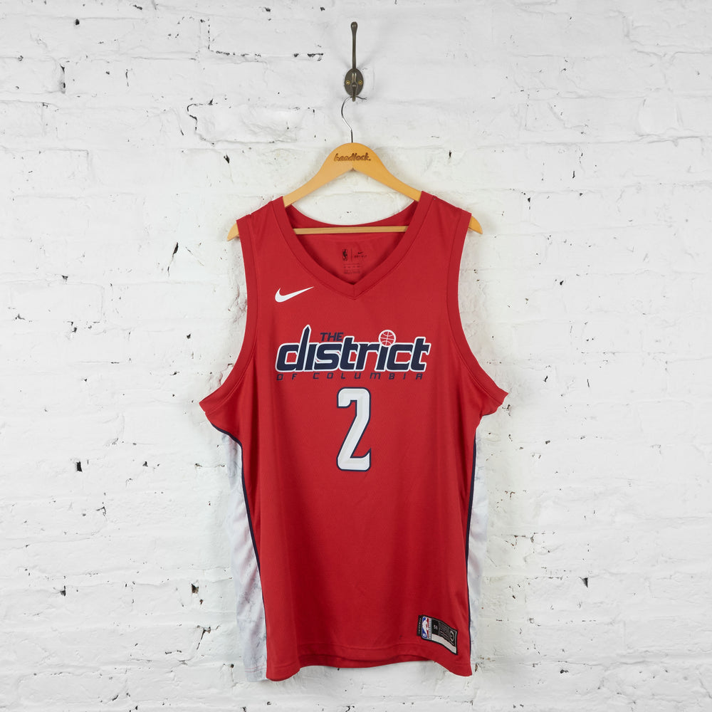 Vintage NBA District Of Columbia Jersey - Red - XL - Headlock
