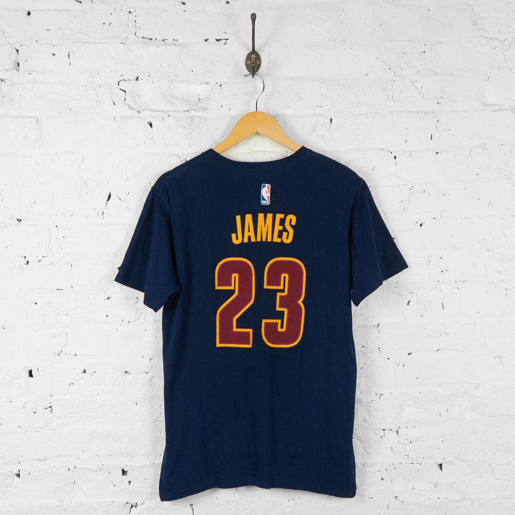 Vintage NBA Cleveland Cavaliers T-Shirt - Navy - M