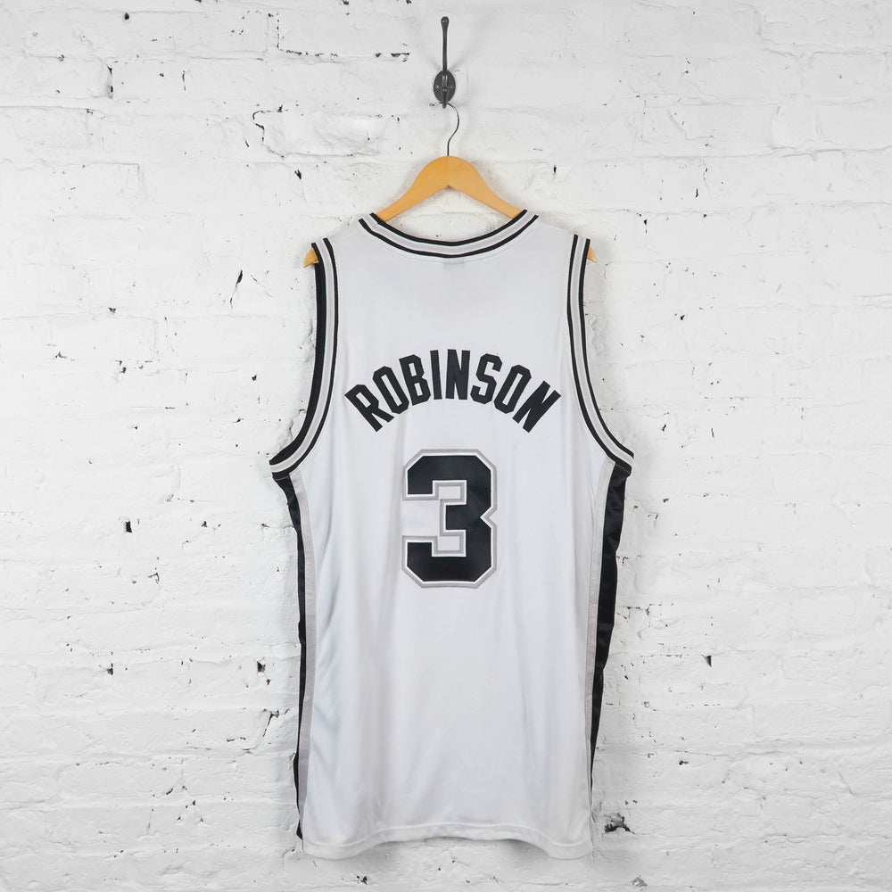 Vintage NBA San Antonio Spurs - White - XXL - Headlock