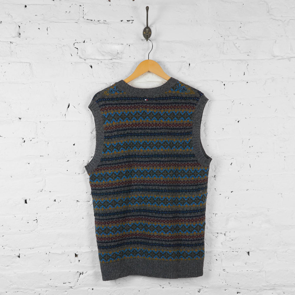 Vintage Tommy Hilfiger Knit Vest Jumper - Multi - XL - Headlock