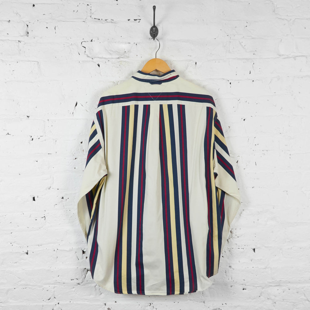 Vintage Tommy Hilfiger Striped Shirt - Multi - XL - Headlock