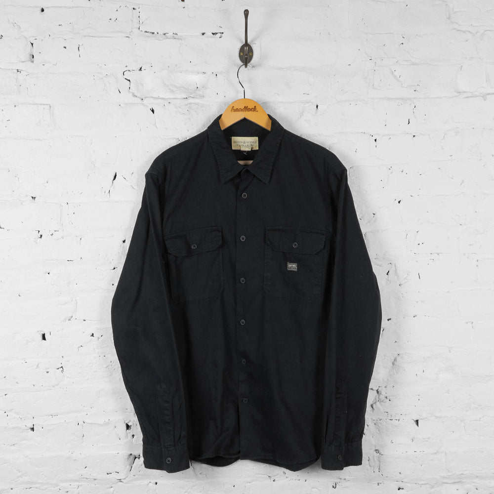 Vintage Ralph Lauren Denim Supply Shirt - Black - XL - Headlock