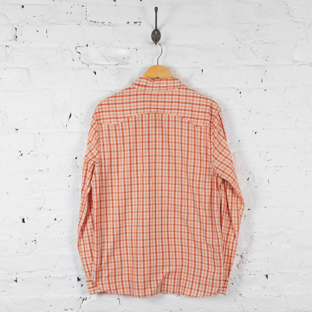 Vintage Levi's Checked Shirt - Orange - M - Headlock