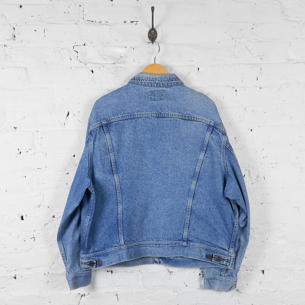 Vintage Lee Denim Jacket - Blue - L - Headlock