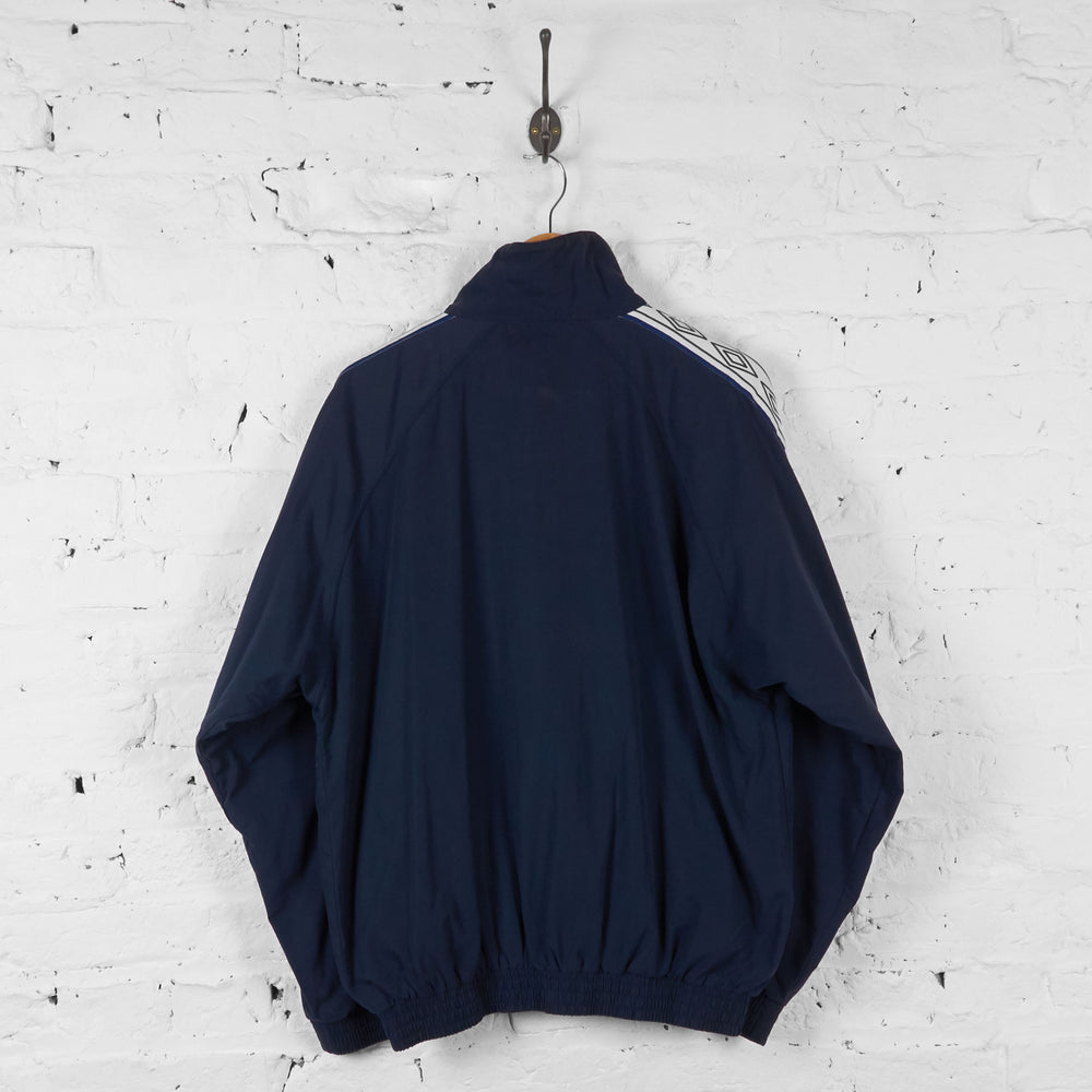 Vintage Training Umbro Tracksuit Top - Navy - L - Headlock