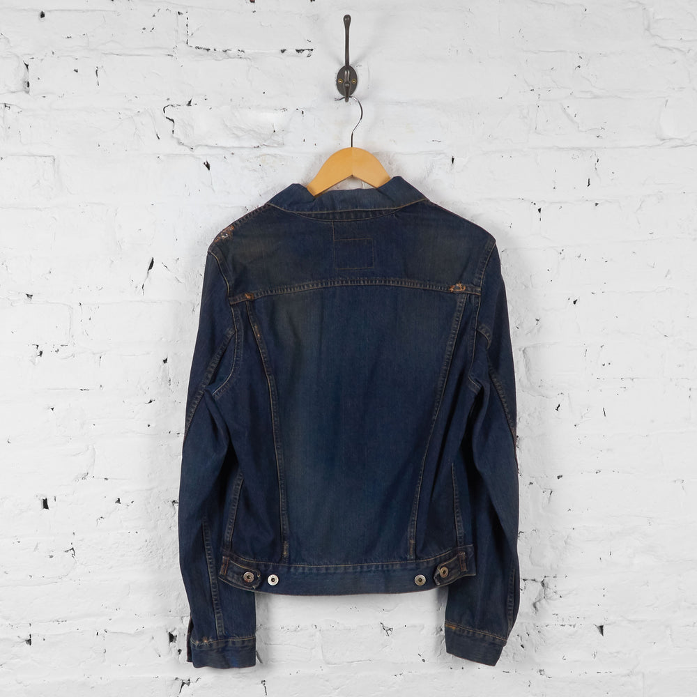 Vintage Replay Denim Jacket - Blue - S - Headlock