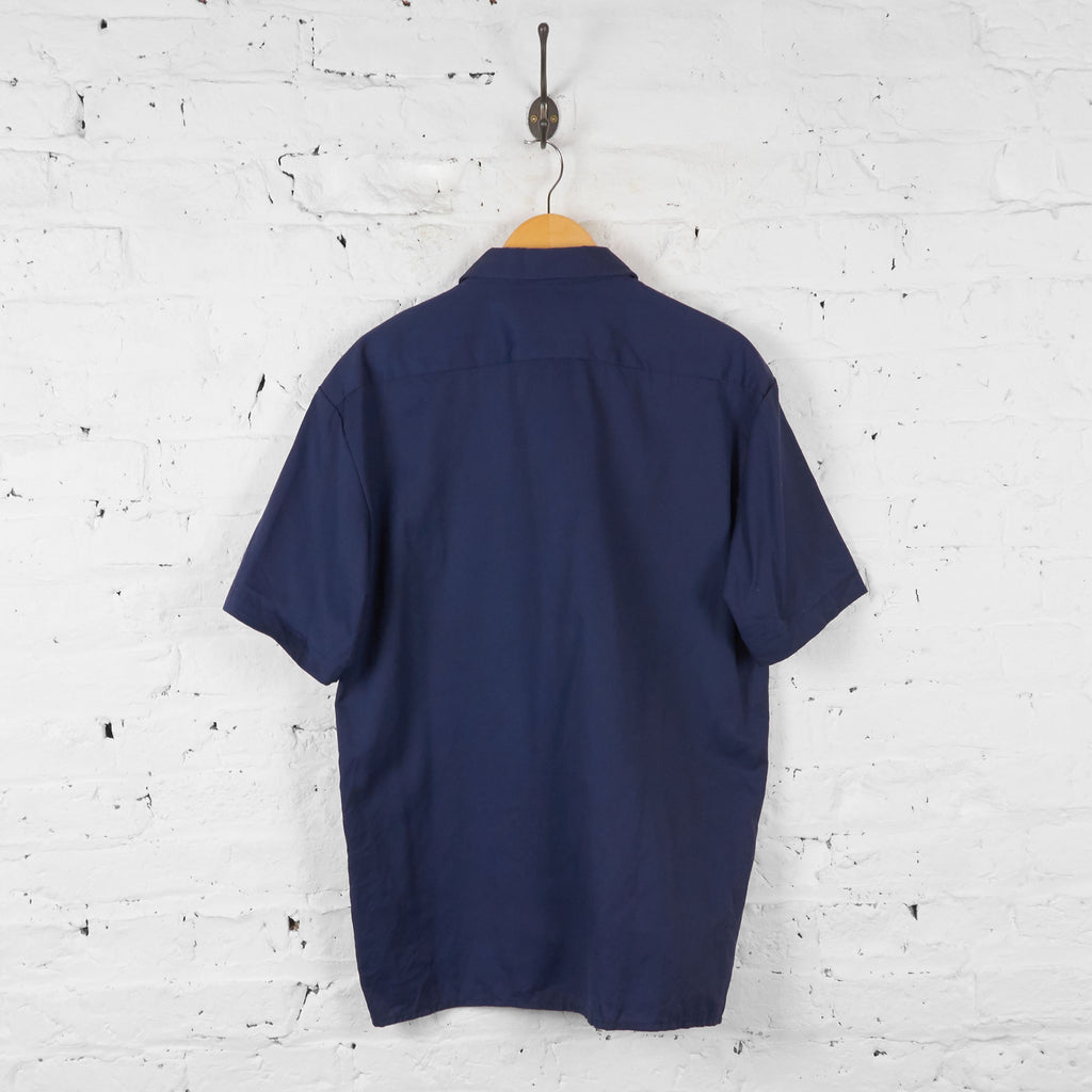 Vintage Dickies Utility Shirt - Navy - L - Headlock