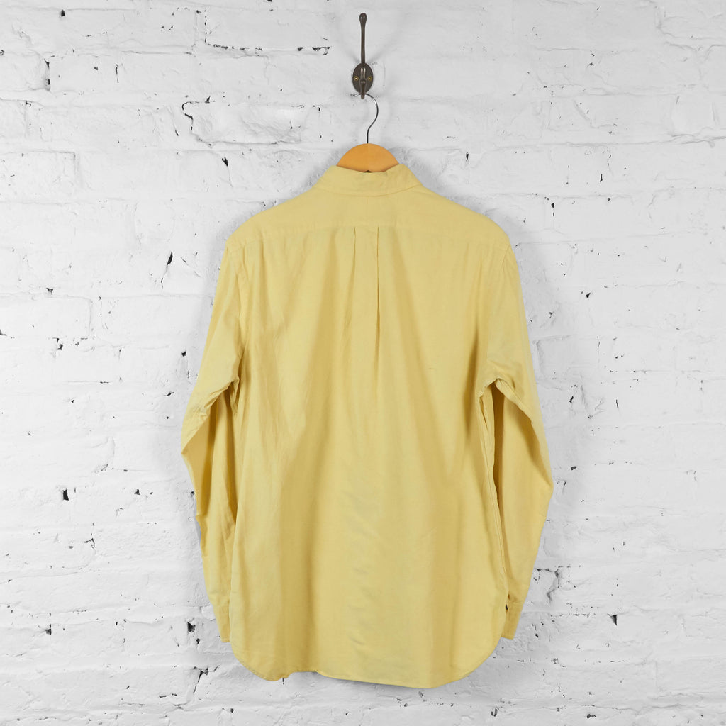 Vintage Ralph Lauren Shirt - Yellow - M - Headlock