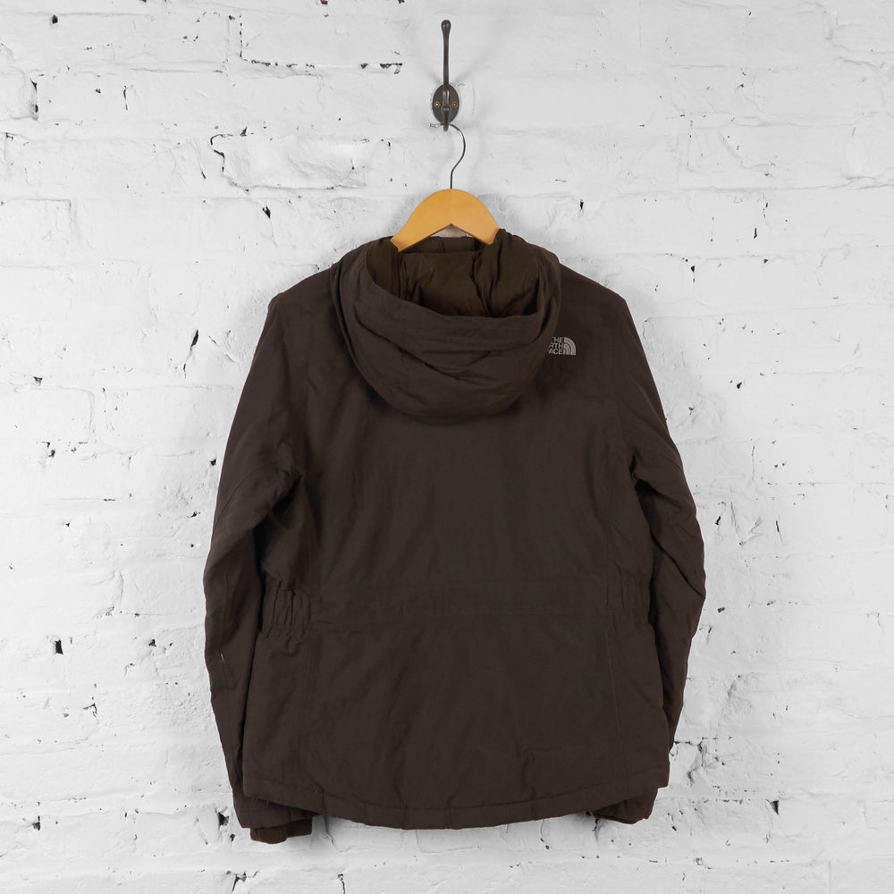 Vintage Women's The North Face Jacket - Brown - M - Headlock