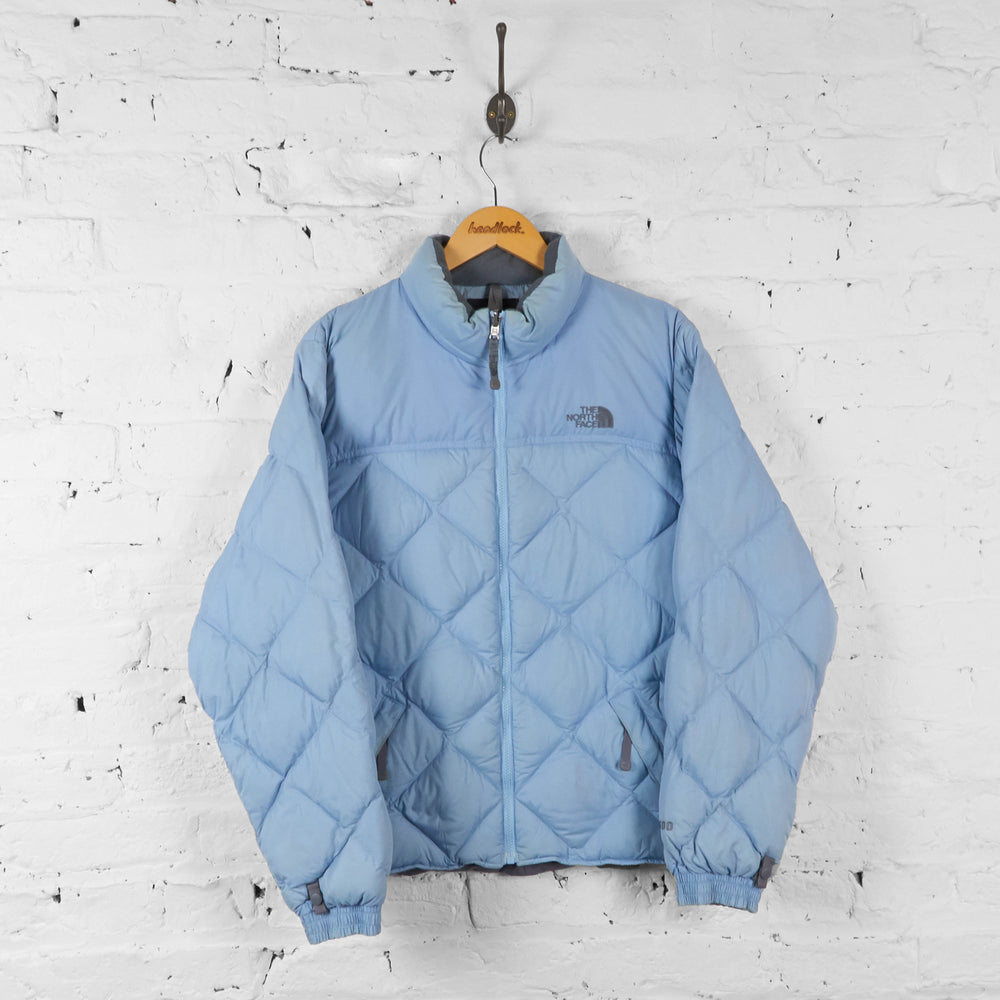 Vintage Women's The North Face Puffer Jacket - Blue - L - Headlock