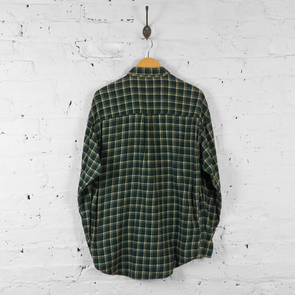 Vintage Ralph Lauren Checked Shirt - Green - L - Headlock