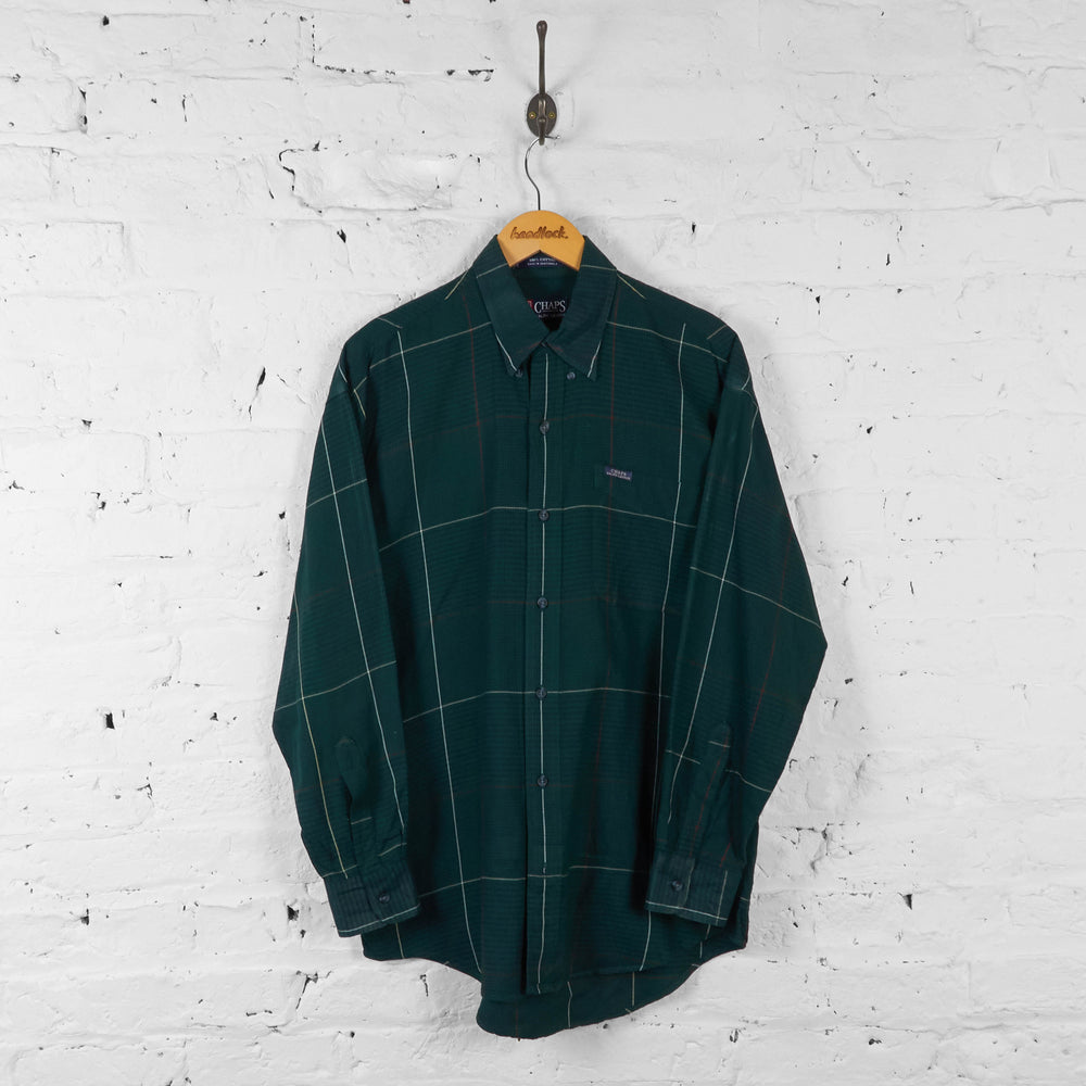 Vintage Ralph Lauren Checked Shirt - Green - M - Headlock