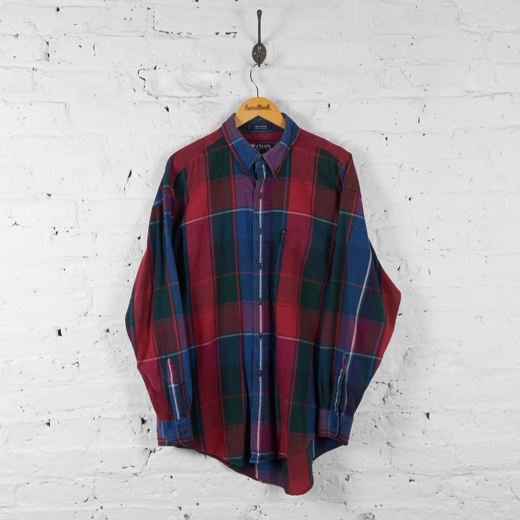 Vintage Ralph Lauren Checked Shirt - Red/Blue/Green - L - Headlock