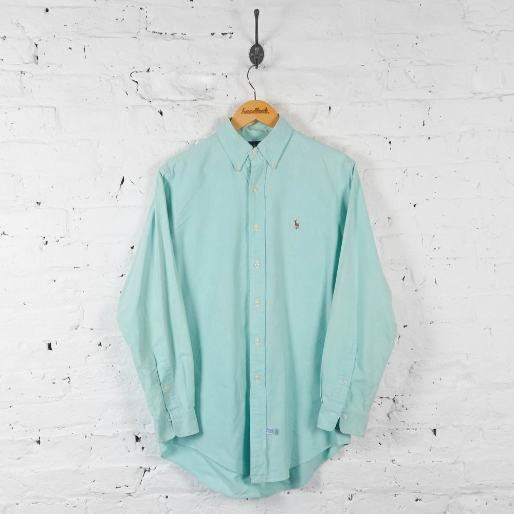 Vintage Ralph Lauren Shirt - Blue - S - Headlock
