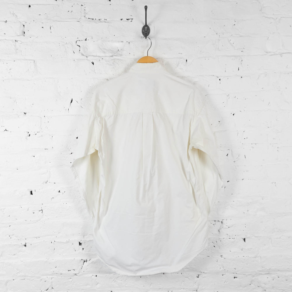 Vintage Ralph Lauren Shirt - White - S - Headlock