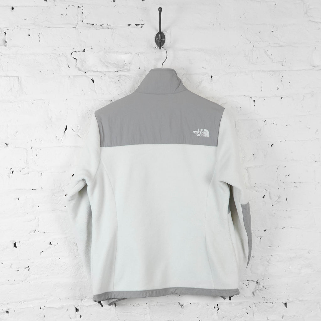 Womens The North Face Denali Fleece - White - Womens M - Headlock