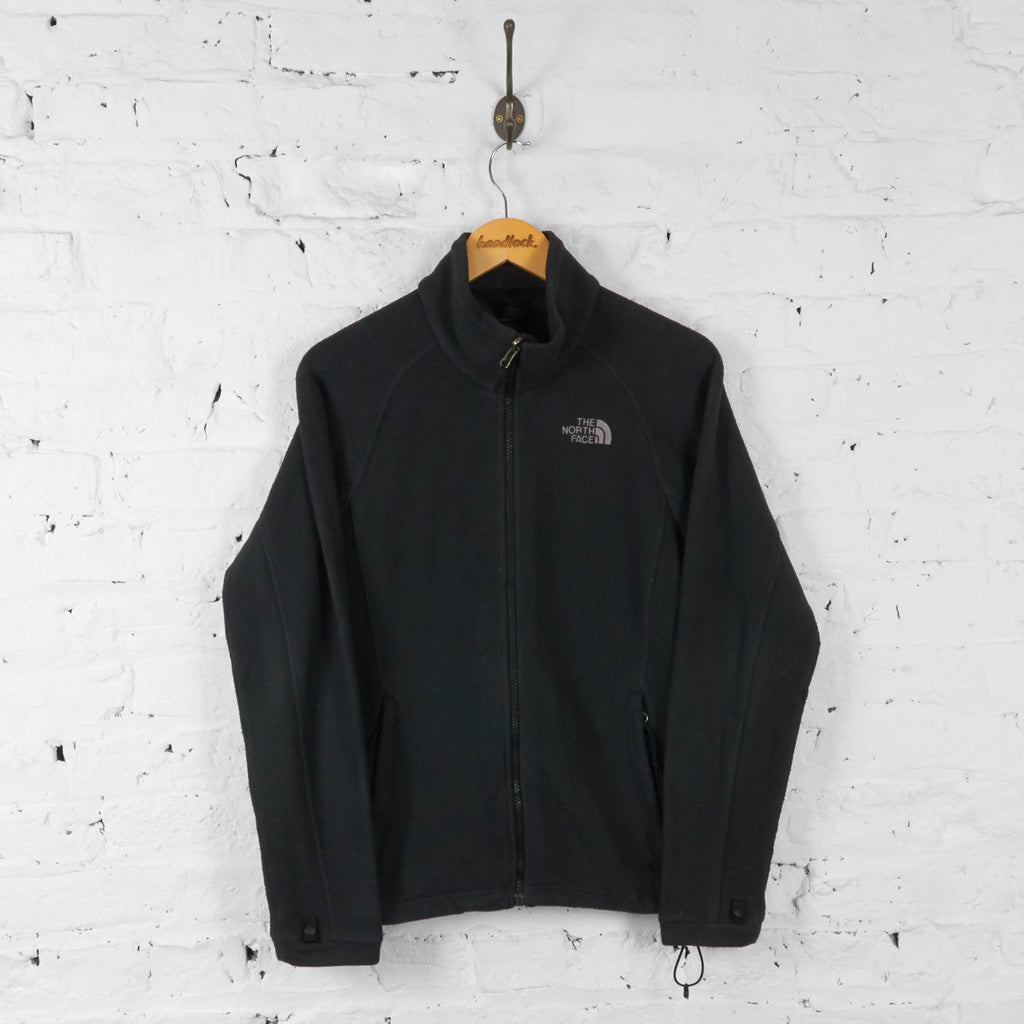 Womens The North Face Full Zip Fleece - Black - Womens M - Headlock
