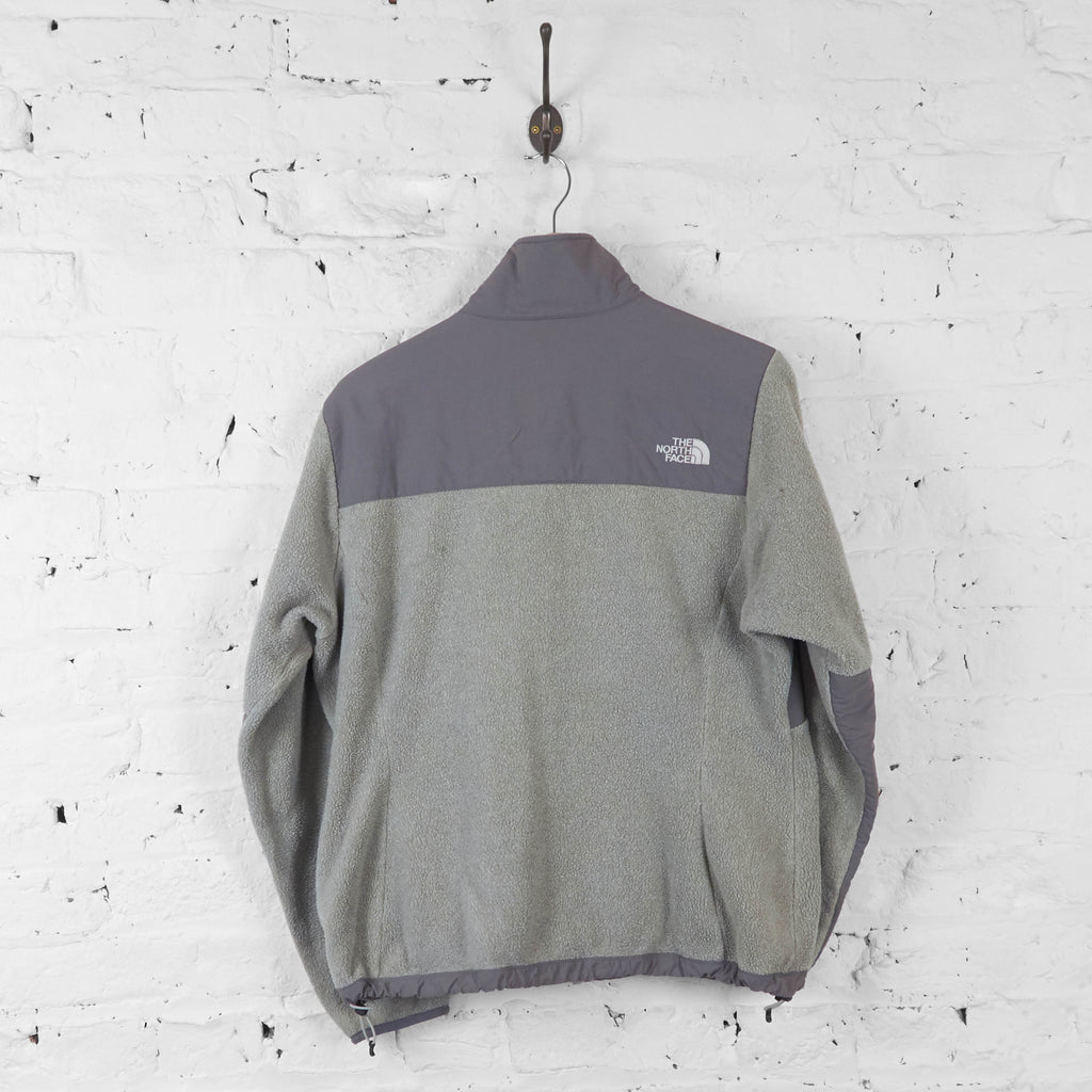 Womens The North Face Denali Fleece - Grey - Womens L - Headlock