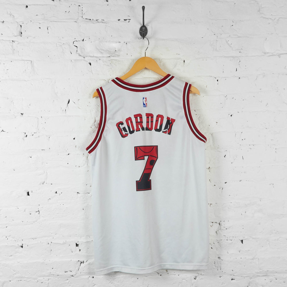 Vintage NBA Chicago Bulls Gordon Jersey - White - XL - Headlock