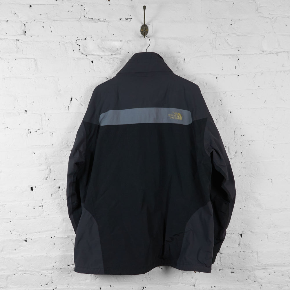 Vintage The North Face Outdoor Jacket - Black/Grey - XL - Headlock