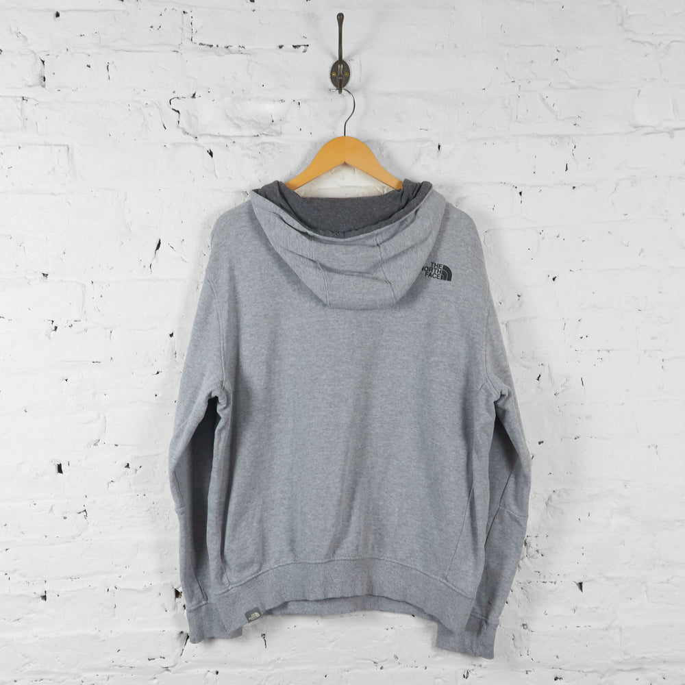Vintage The North Face Hoodie - Grey - L - Headlock
