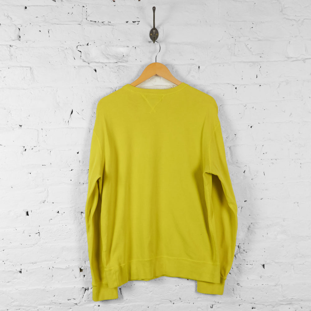 Vintage Ralph Lauren Sweatshirt - Yellow - L - Headlock