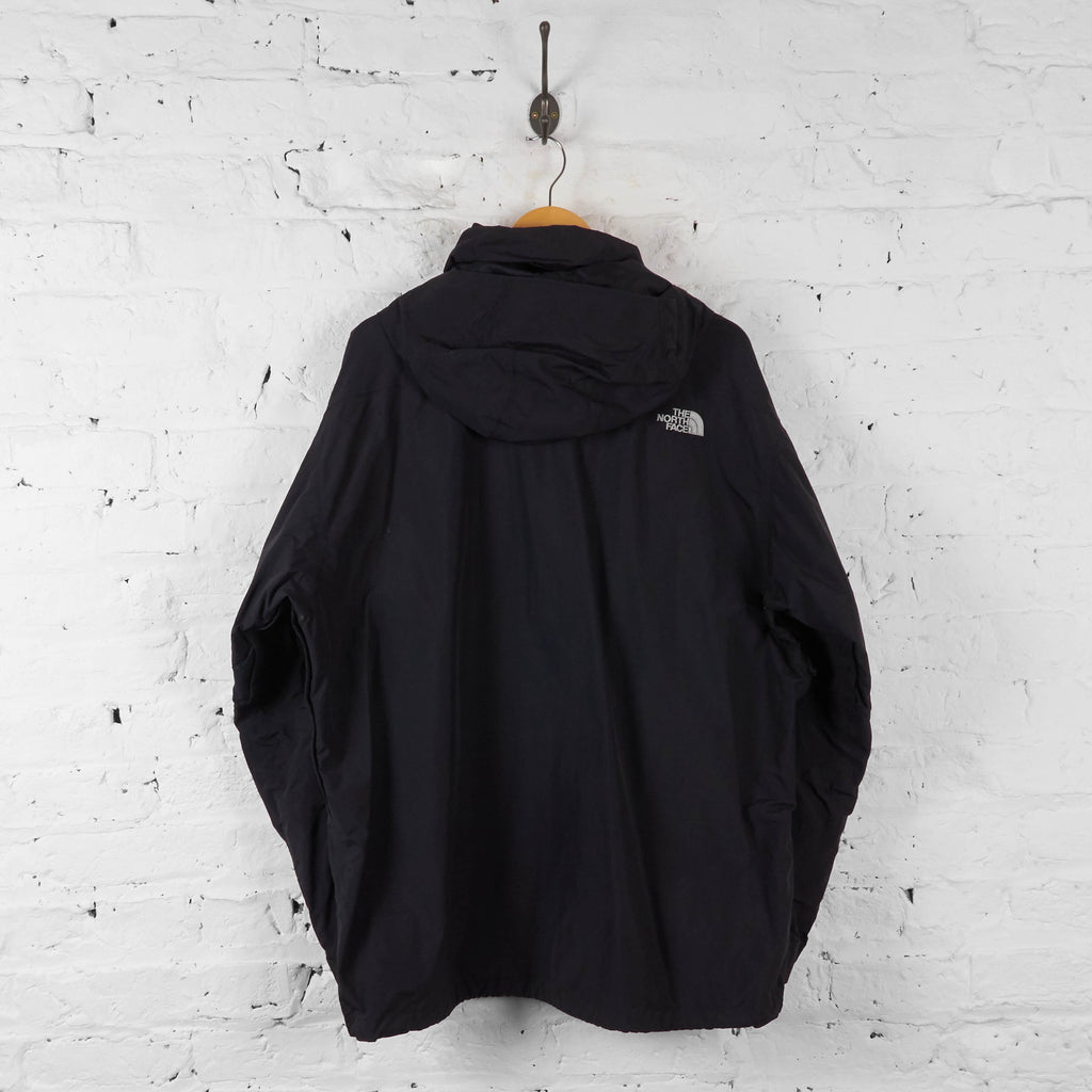 Vintage The North Face HYVent Hooded Jacket - Black - XL - Headlock