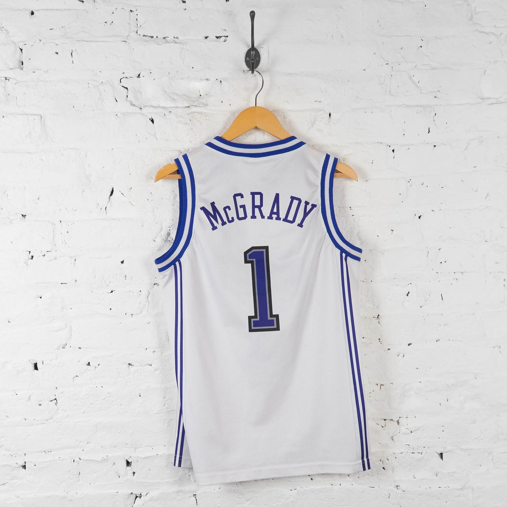 Vintage NBA Orlando Magic 'McGrady 1' Jersey - White - S - Headlock