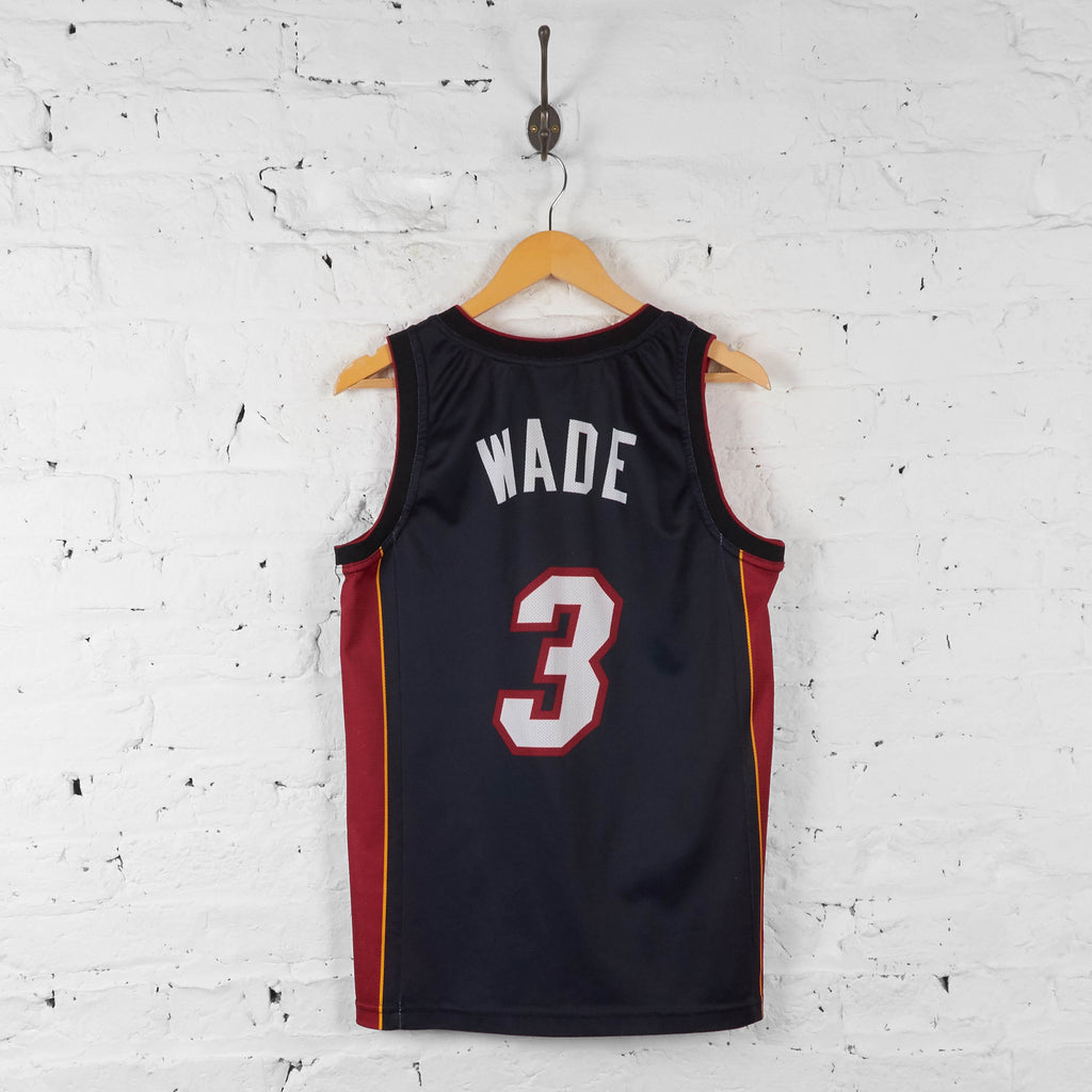 Vintage NBA Miami Heat 'Wade 3' Jersey - Black - S - Headlock
