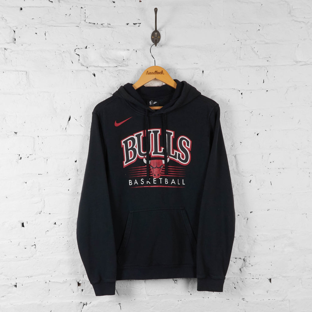 Vintage NBA Chicago Bulls Basketball Hoodie - Black - S - Headlock