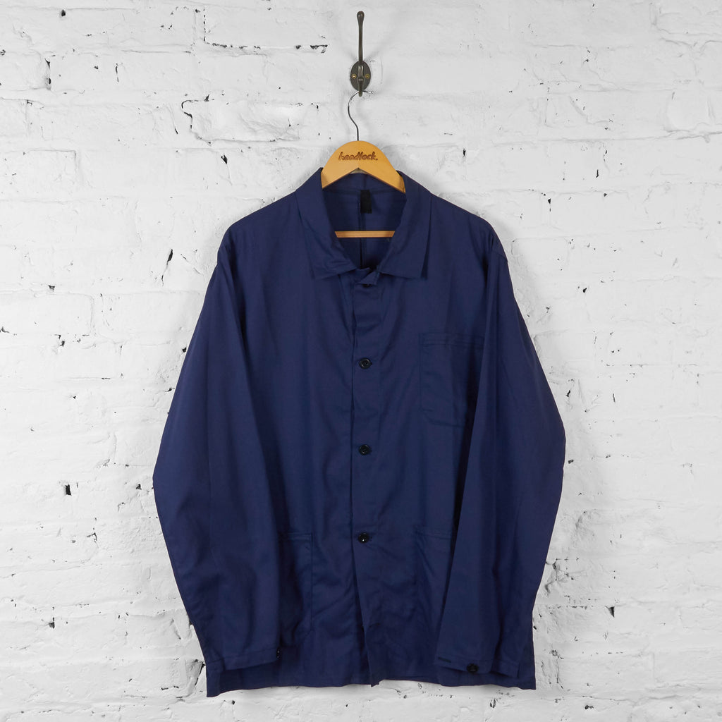 Worker Chore Utility Shirt - Blue - XL - Headlock
