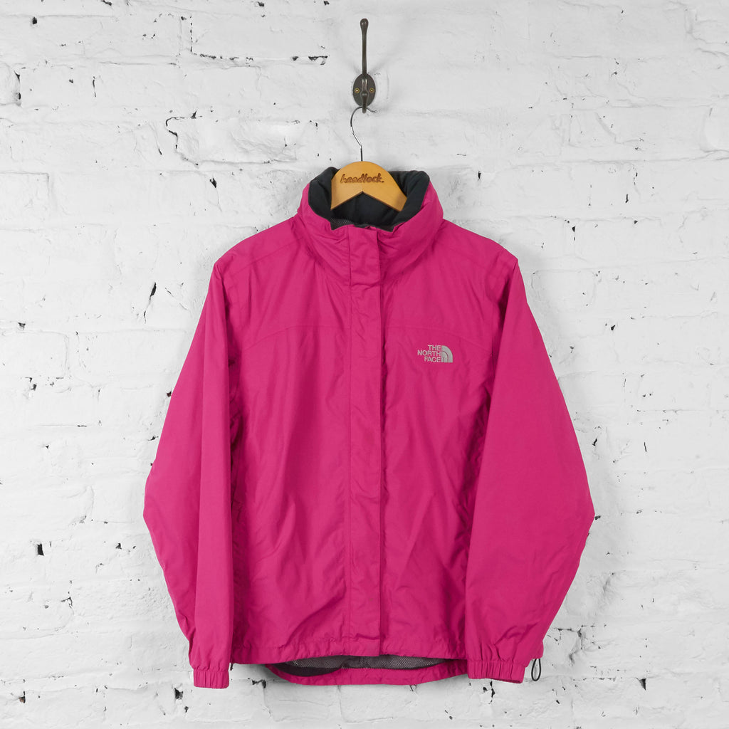 Womens The North Face Hyvent Jacket - Pink - Womens M - Headlock