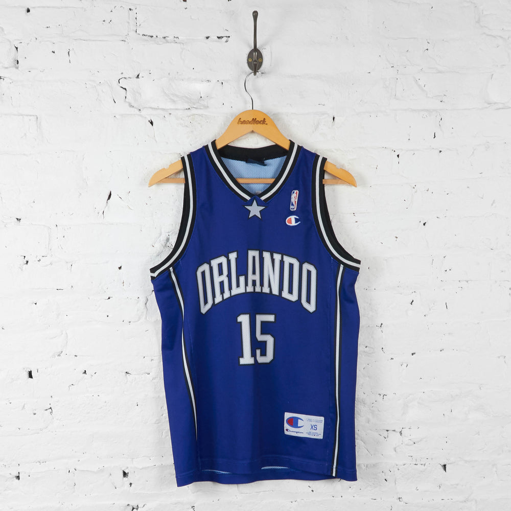 Vintage NBA Orlando Magic 'Turkoglu 15' Jersey - Blue - XS - Headlock