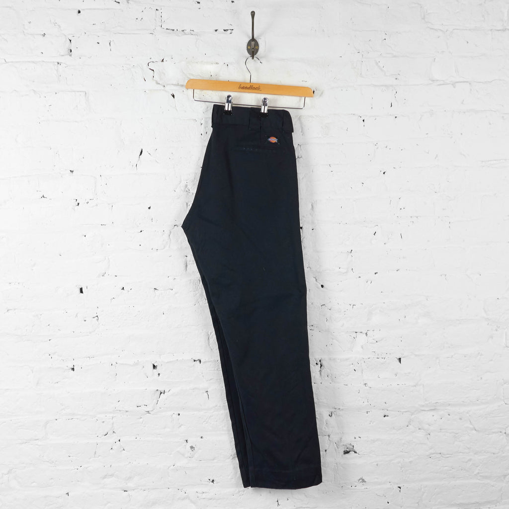 Vintage Dickies Slim Straight Trousers - Black - M - Headlock