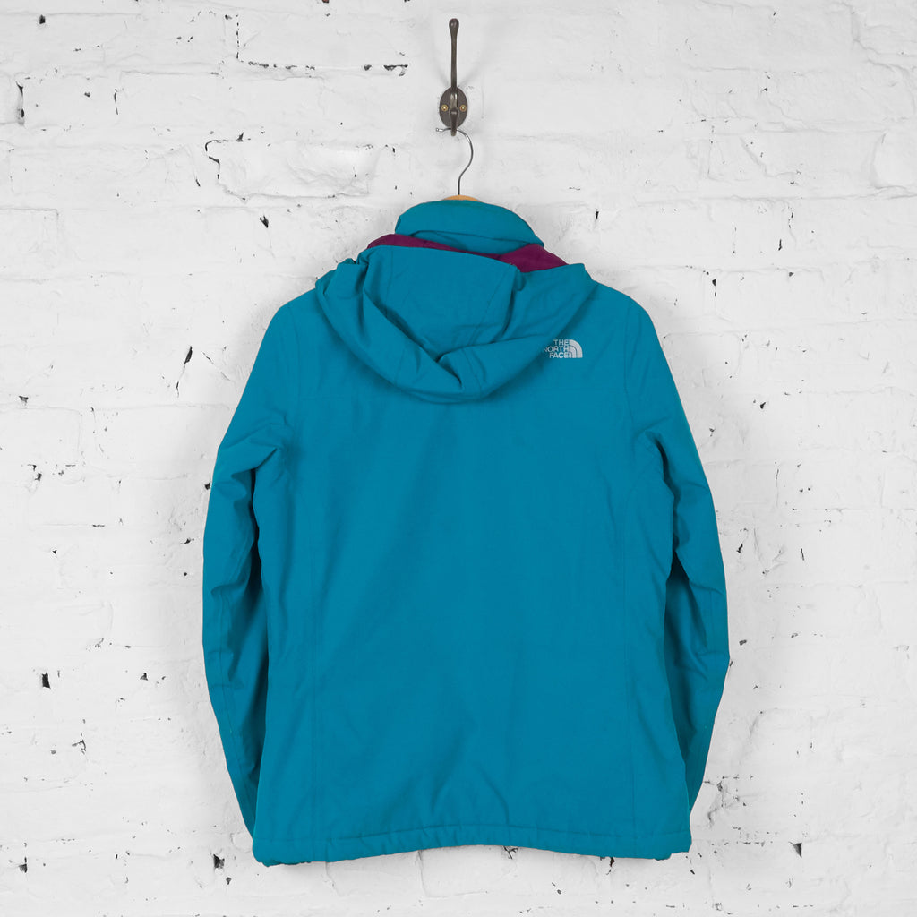 Womens The North Face Rain Jacket - Green - Womens M - Headlock