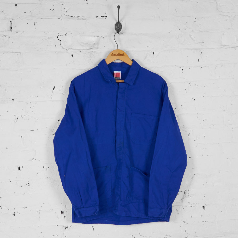Utility Work Over Shirt - Blue - L