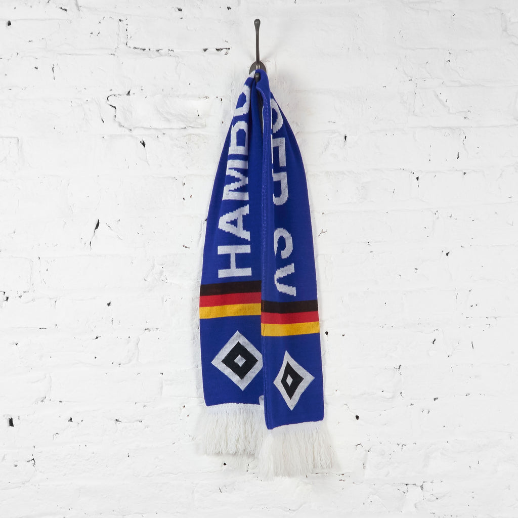 Vintage Hamburger Hamburg SV Football Scarf - Blue