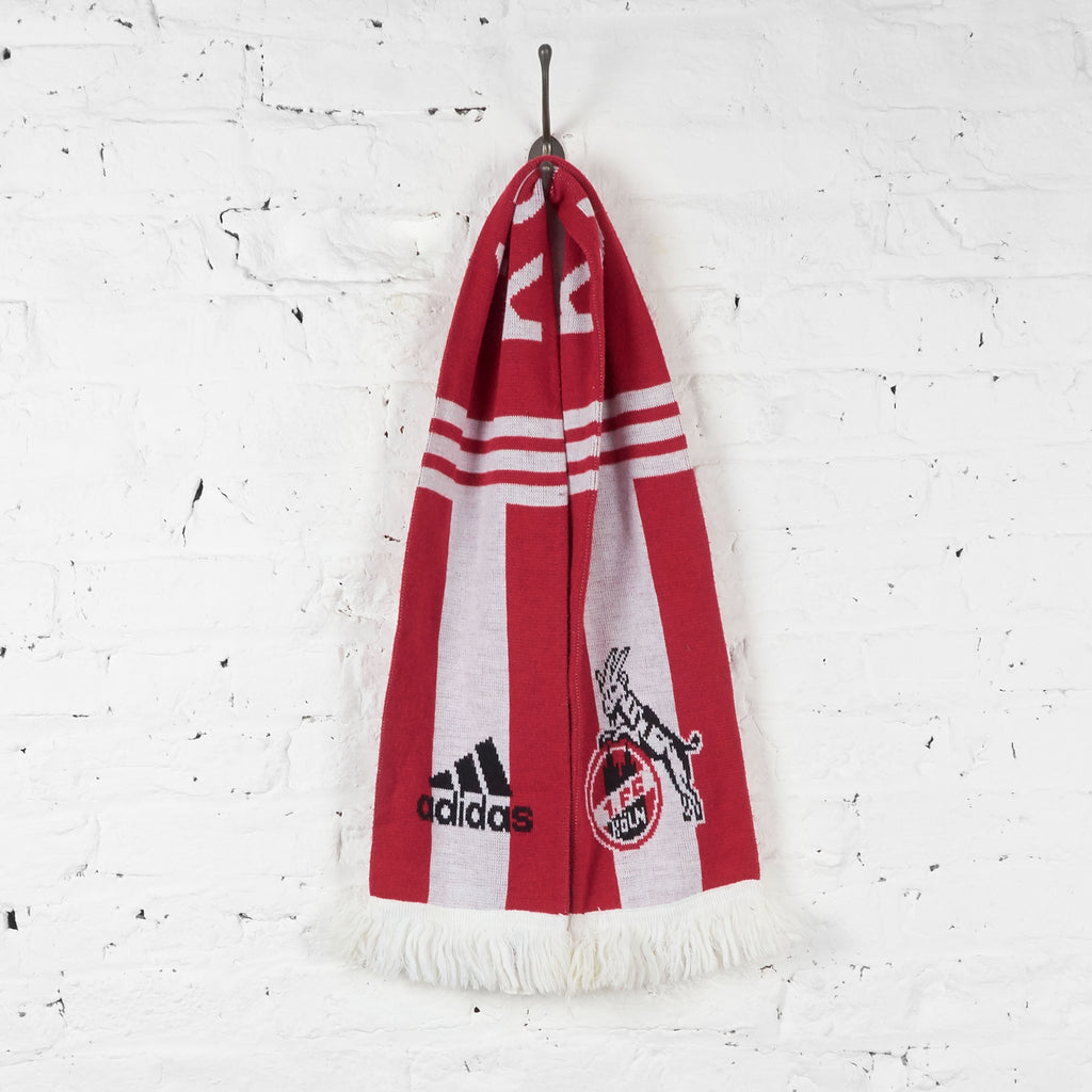Vintage Koln FC Football Scarf - Red